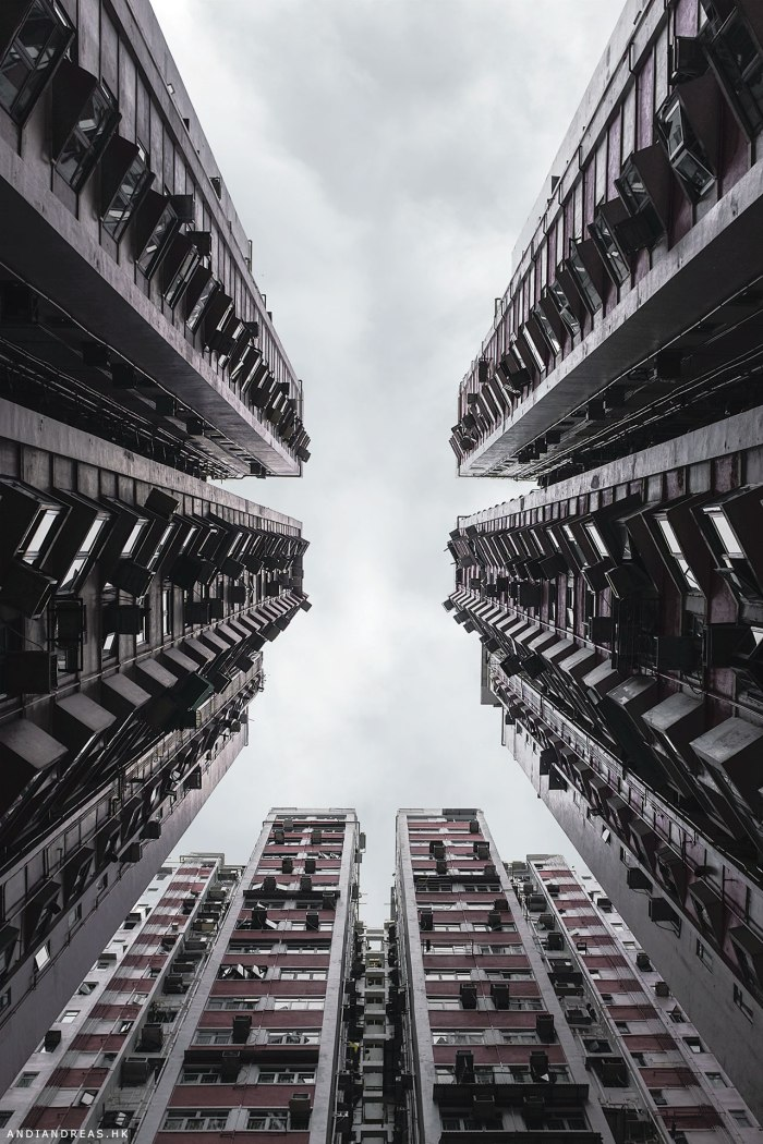 Vertical City of Hong Kong